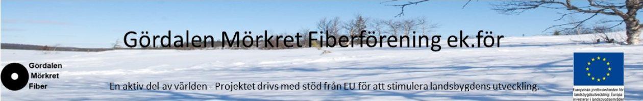 Gördalen-Mörkret Fiber